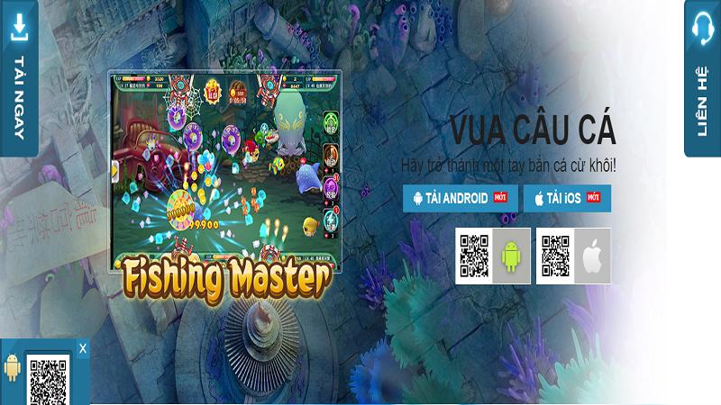 Chơi câu cá online ăn tiền thật – Game Fishing Master tại nhà cái W88